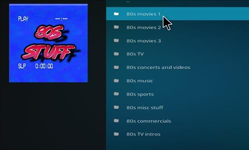 How to Install 80s Stuff Kodi Add-on with Screenshots pic 2
