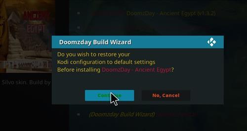 How to Install Ancient Egypt Kodi Build 18 Leia step 19