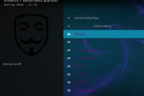 How to Install Bearded Bandit Kodi Add-on with Screenshots pic 2