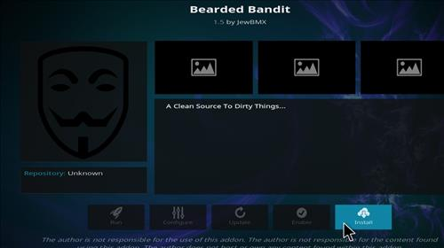 How to Install Bearded Bandit Kodi Add-on with Screenshots step 18