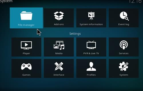 How to Install Blue Magic Kodi Build 18 Leia step 2