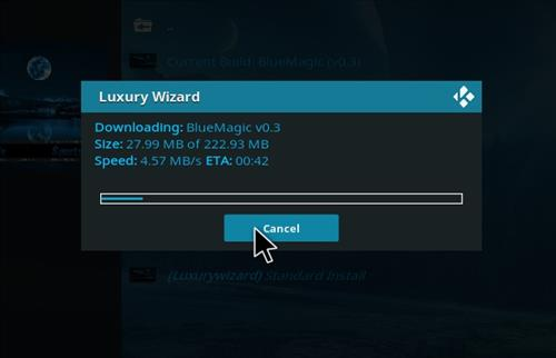 How to Install Blue Magic Kodi Build 18 Leia step 20