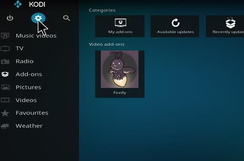 How to Install Firefly Kodi Add-on with Screenshots step 1