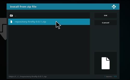 How to Install Firefly Kodi Add-on with Screenshots step 12