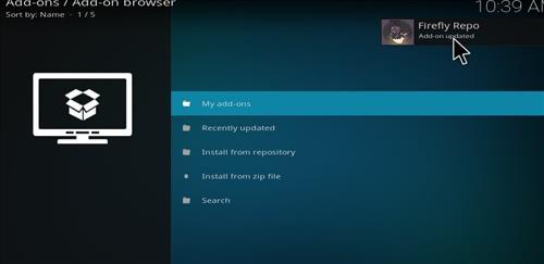 How to Install Firefly Kodi Add-on with Screenshots step 13