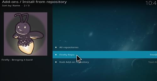 How to Install Firefly Kodi Add-on with Screenshots step 15
