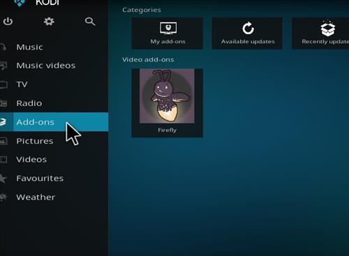 How to Install Firefly Kodi Add-on with Screenshots step 8