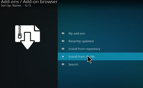 How to Install Kraken Kodi Build with Screenshots step 10