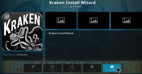 How to Install Kraken Kodi Build with Screenshots step 18