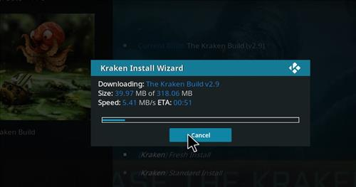 How to Install Kraken Kodi Build with Screenshots step 25