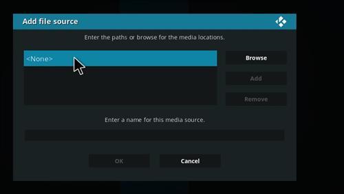 How to Install Kraken Kodi Build with Screenshots step 4