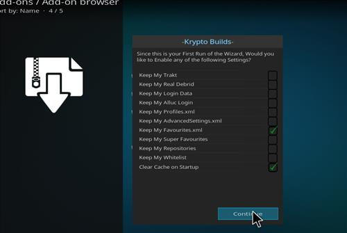 How to Install Krypto Build Wizard with Screenshots step 15