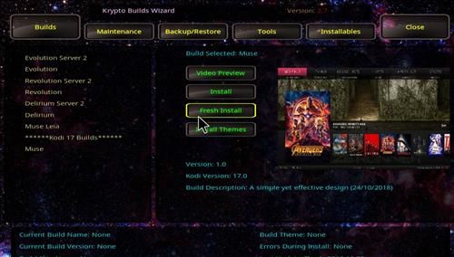 How to Install Krypto Build Wizard with Screenshots step 18