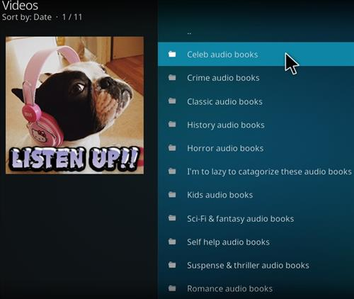 How to Install Listen up Kodi Add-on with Screenshots pic 2