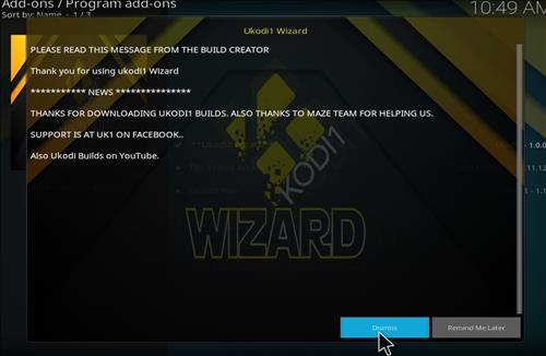 How to Install Red Danger Kodi Build with Screenshots step 20
