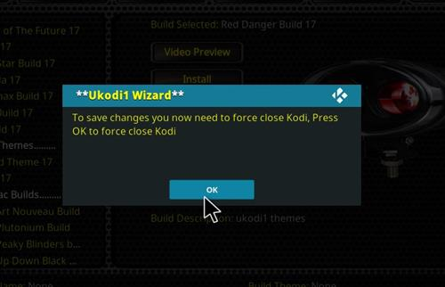 How to Install Red Danger Kodi Build with Screenshots step 27