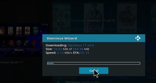 How to Install Slamious Kodi Build with Screenshots step 20