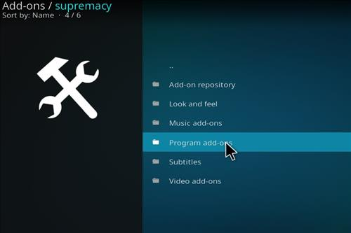 How to Install Supremacy Kodi Wizard with Screenshots step 16