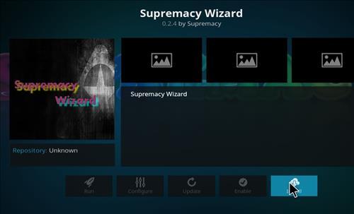 How to Install Supremacy Kodi Wizard with Screenshots step 18