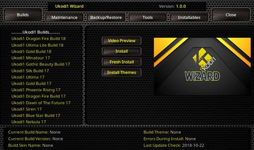 How to Install Ukodi1 Kodi Wizard with Screenshots – Whyingo