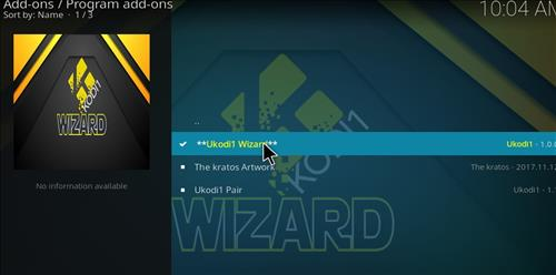 How to Install Ukodi1 Kodi Wizard with Screenshots step 17