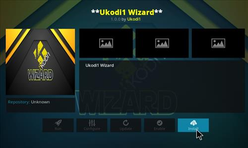 How to Install Ukodi1 Kodi Wizard with Screenshots step 18