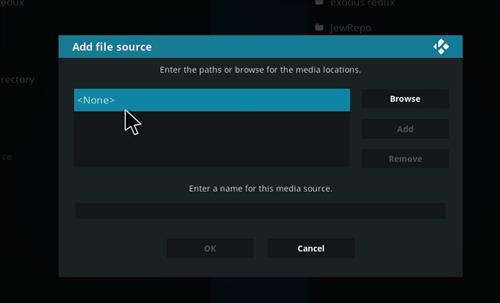 How to Install Ukodi1 Kodi Wizard with Screenshots step 4