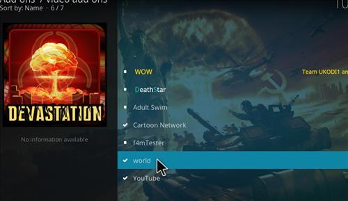 How to Install World Kodi Add-on with Screenshots step 17