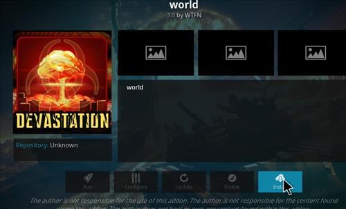 How to Install World Kodi Add-on with Screenshots step 18