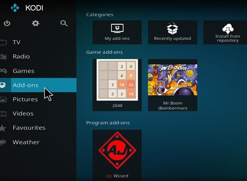 How to Install Xontech Kodi Build 18 Leia step 20