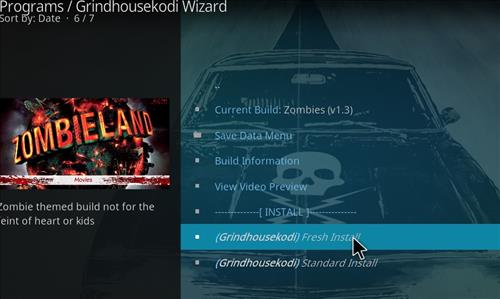 How to Install Zombies Kodi Build with Screenshots step 24