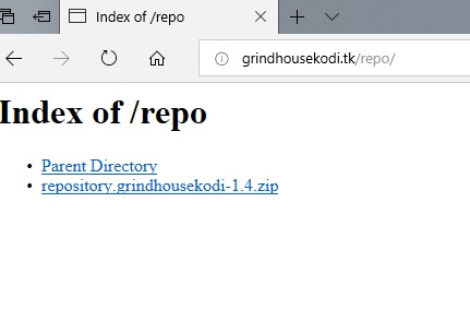 manual and download grindhouse repo step 1