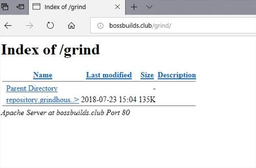 manual and download grindhouse repo step1