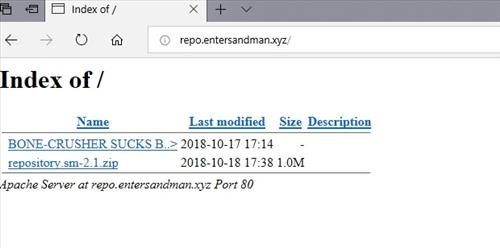 manual and download sandman repo step 1