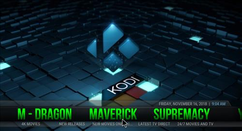 Best Working Kodi 18 Leia Builds 2018 maverick pic 1