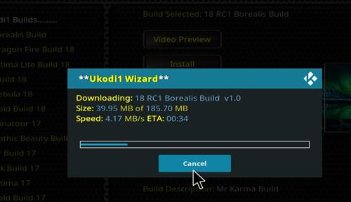 How to Install 18 RC1 Borealis Build step 26