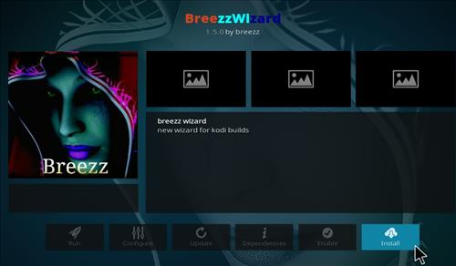 How to Install Breezz RD Kodi Build 18 Leia step 18