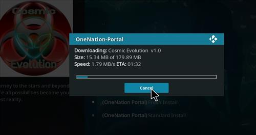 How to Install Cosmic Evolution Kodi Build with Screenshots step 20