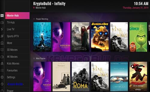 How to Install Infinity Build Kodi 18 Leia pic 1