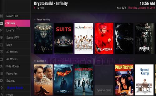 How to Install Infinity Build Kodi 18 Leia pic 2
