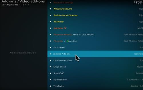 How to Install Jupiter Kodi Add-on with Screenshots step 17