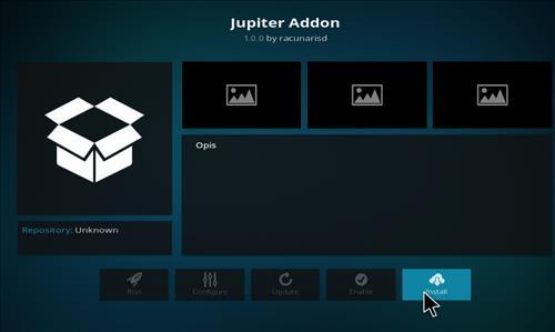 How to Install Jupiter Kodi Add-on with Screenshots step 18