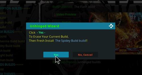 How to Install The Flash Kodi 18 Build Leia step 18