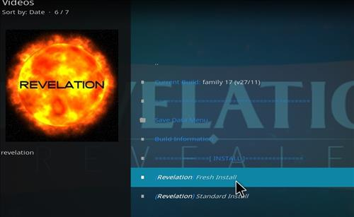 How to Install The Revelation Family Kodi Build with Screenshots step 17