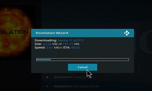 How to Install The Revelation Family Kodi Build with Screenshots step 19