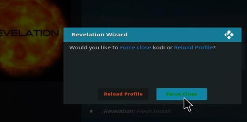 How to Install The Revelation Family Kodi Build with Screenshots step 20