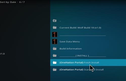 How to Install Wolf Kodi Build 18 Liea step 18