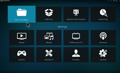 How to Install Wolf Kodi Build 18 Liea step 2