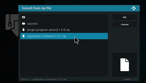 How to Install Zanni Kodi Add-on with Screenshots step 12