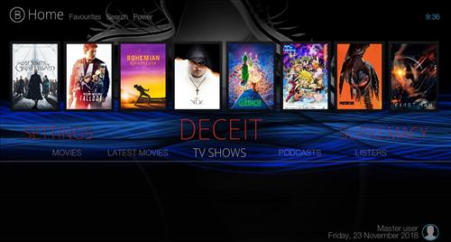 Top Best Working KODI Build List November 2018 breezzdark pic 1